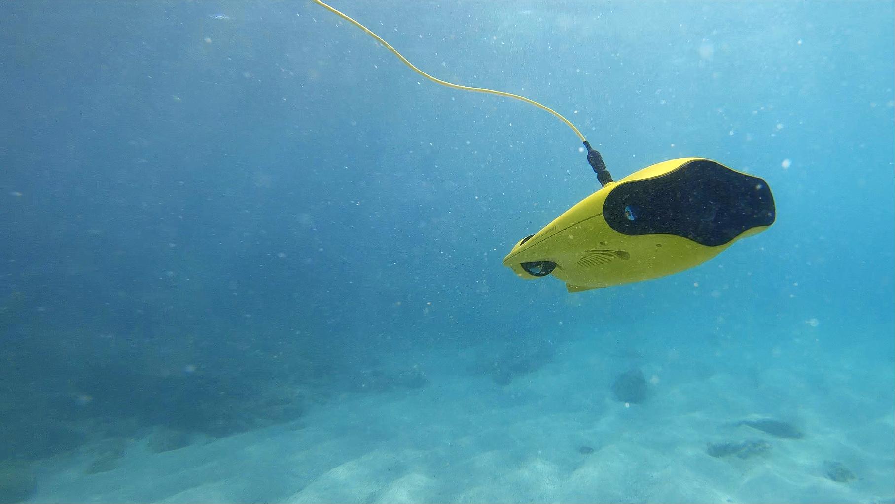 水中ドローンスクール 水中ドローン安全潜航操縦士講習